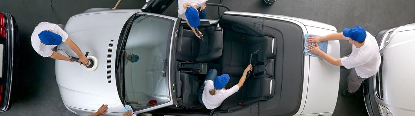 Mobile Fahrzeugreinigung